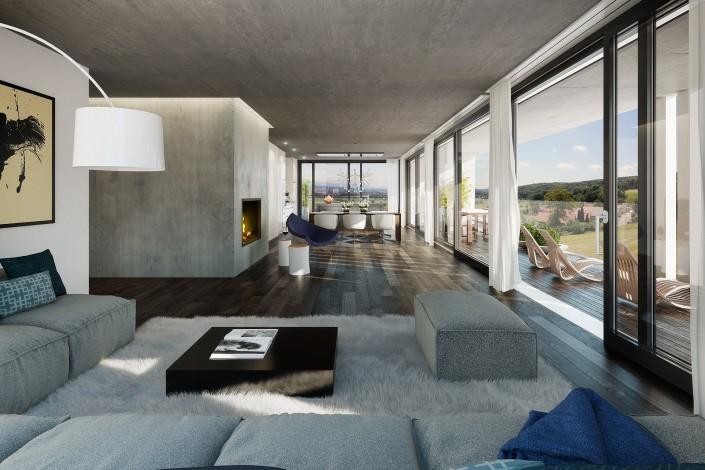 Projekt Hauswohnungen Dintikon