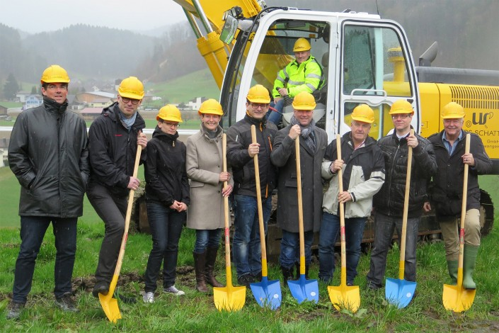 Spatenstich Projekt «Sunnehügel Hushalden» Dussnang