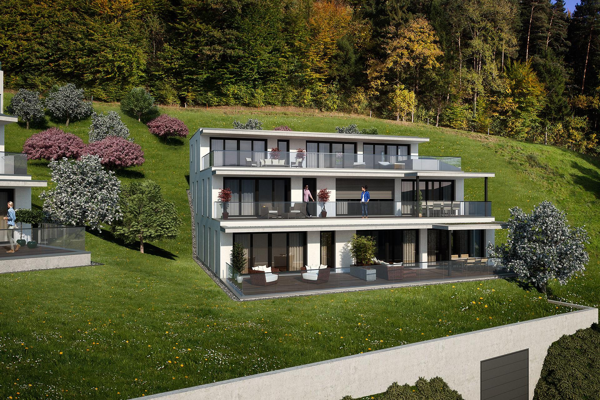Terrassenhaus «Sunnehügel Hushalden» Dussnang