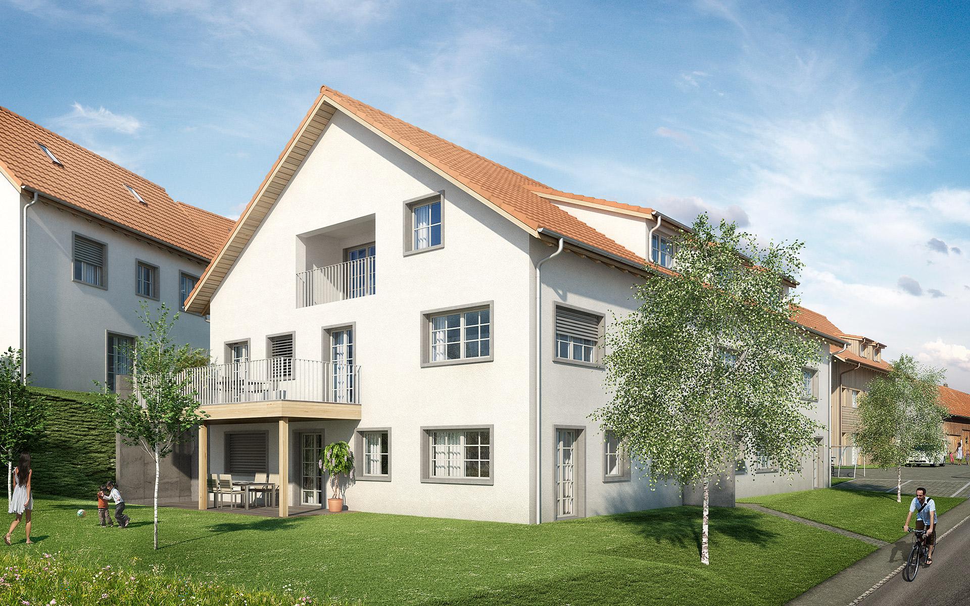 Projekt «Schauenbergblick» Schlatt – Haus A