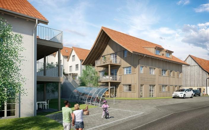 Projekt «Schauenbergblick» Schlatt – Haus B