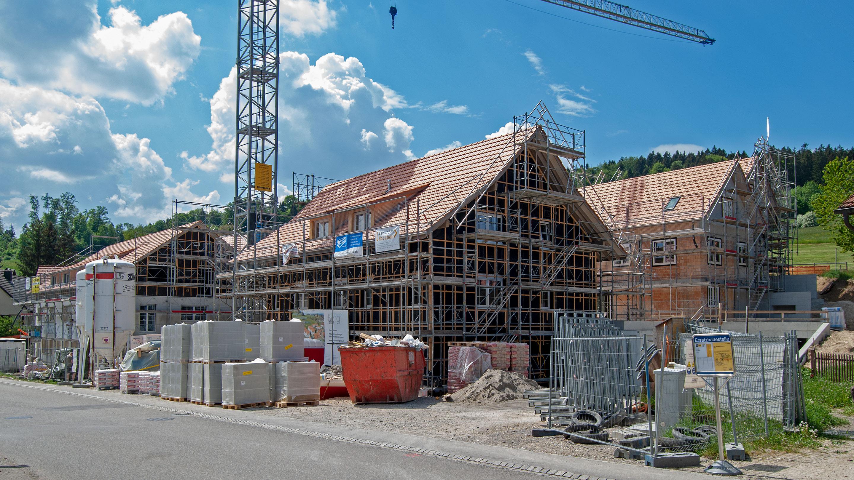 Schauenbergblick Baustelle Mai 2018