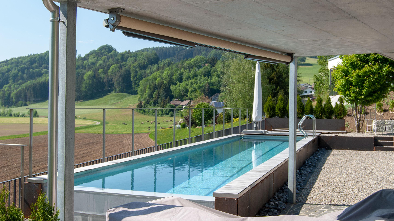 Sunnehügel Dussnang Pool D1