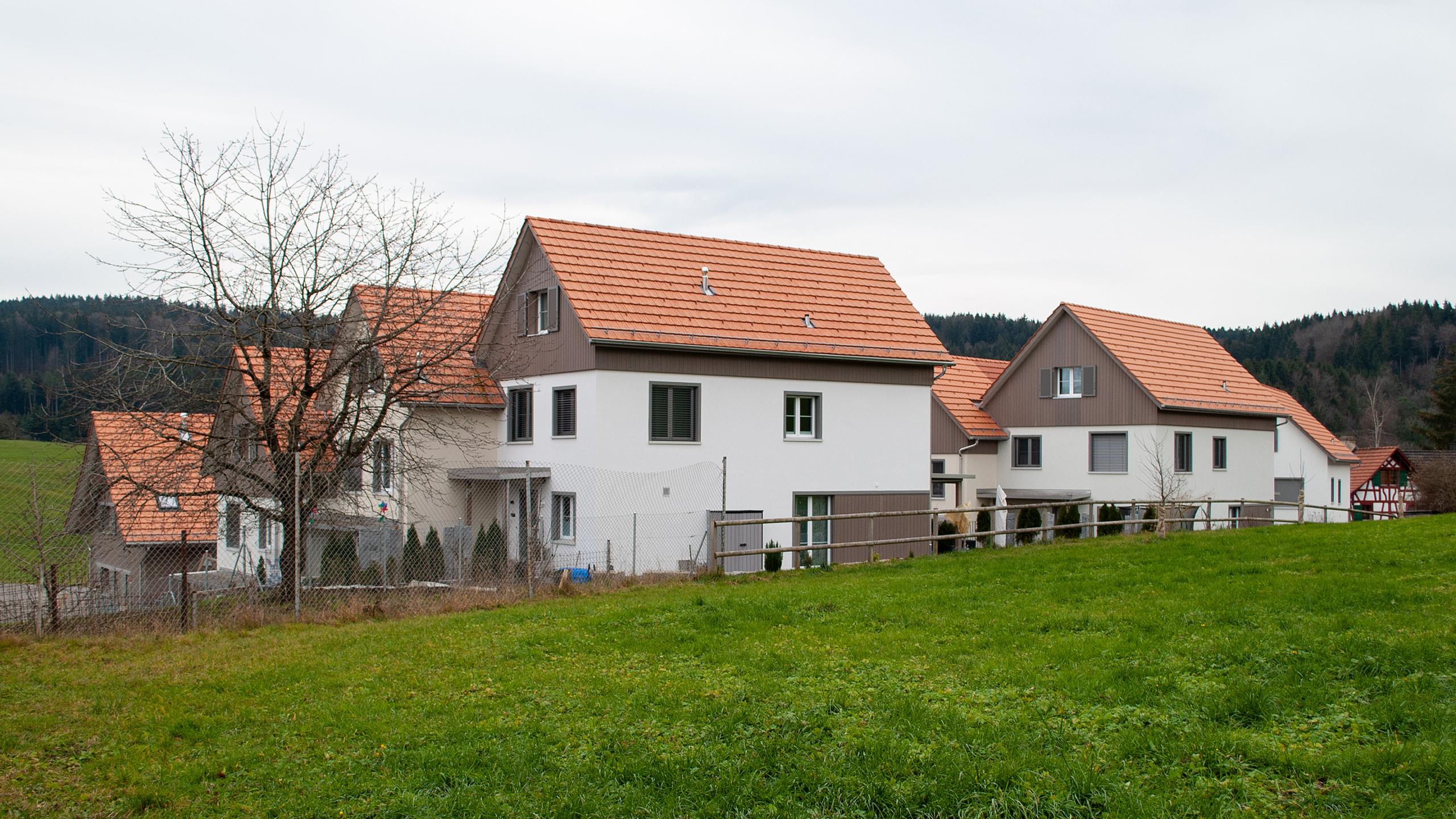Projekt Schauenbergblick in Schlatt, EInfamilienhäuser
