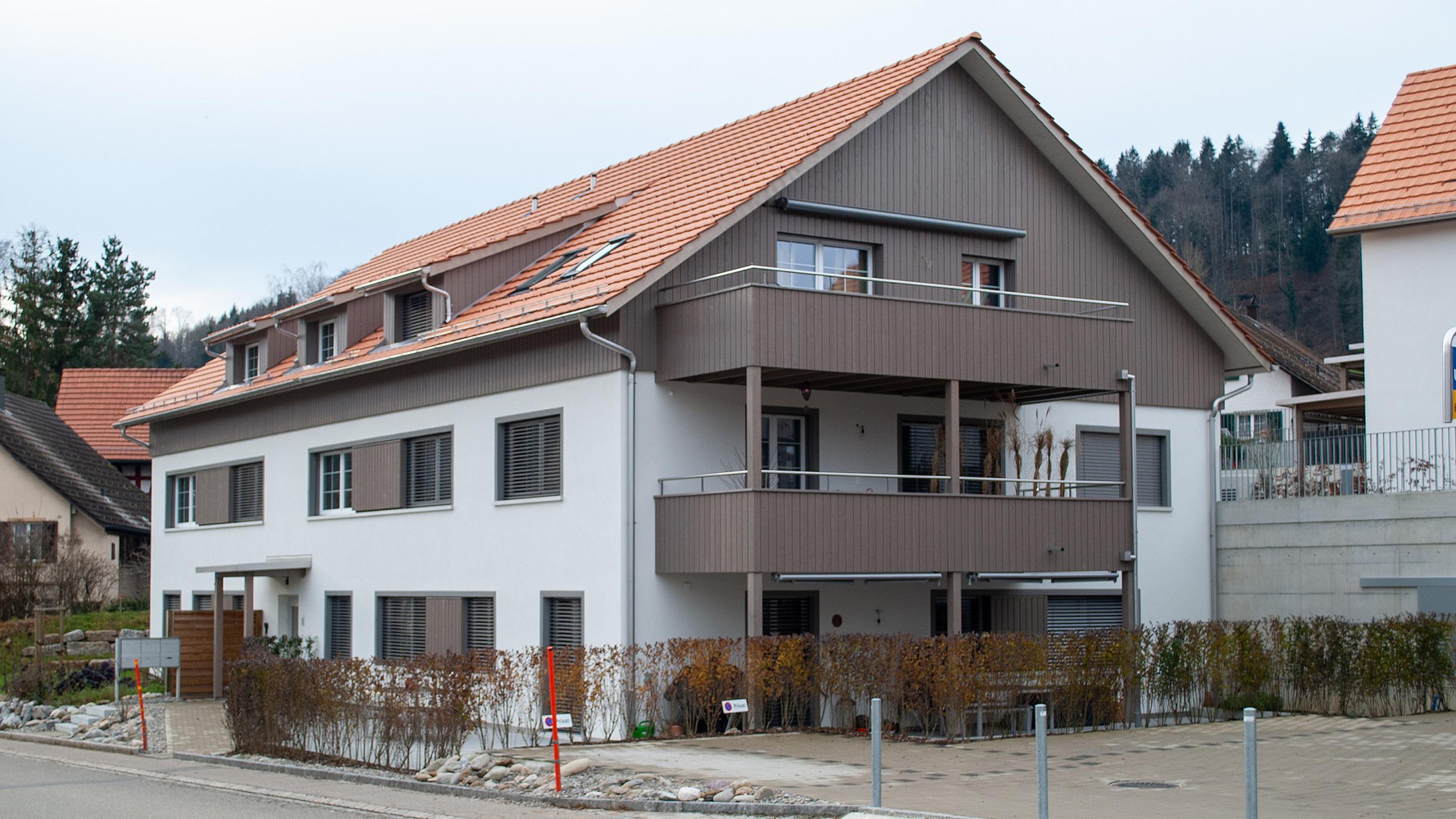 Projekt Schauenbergblick in Schlatt, Haus A